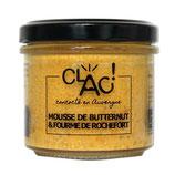 CLAC - Crème de butternut à la fourme de Roquefort 100g