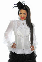 Longbluse weiss 00145