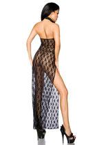 Negligé-Kleid schwarz 0008
