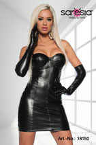 Kleid-Lederimitat 00124