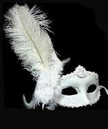 Weisse Maske
