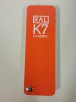RAL K7 Farbkarte