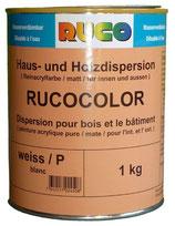 Rucocolor Haus- und Hausdispersion aussen weiss