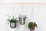 Leren Plantenhangers