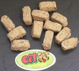 100g Lachs Snack getrocknet (100g / 2,50€)