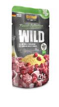 Belcando Wild mit Hirse & Preiselbeeren 125g (100 g ab 0,90 €)