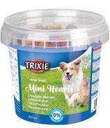 TRIXIE Trainer Snack Mini Hearts, mit Huhn, Lamm + Lachs, 200 g (100g / 1,00€)
