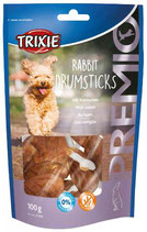 TRIXIE PREMIO Rabbit Drumsticks, 8 Stck / 100g,  (100g / 2,29€)