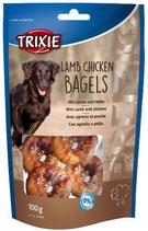 TRIXIE PREMIO Lamb Chicken Bagels, 100g, mit Lamm + Hühnchen (100g / 2,49€)