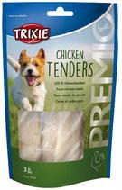 TRIXIE PREMIO Chicken Tenders, 100 % Hühnchenfilet, 3 Stück / 75g (Stck / 0,66€)