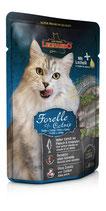 Leonardo 85 g Frischebeutel Forelle & Catnip / Minze (100g ab 1,33€)