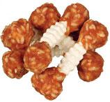 TRIXIE DENTA FUN Chicken Chewing Dumbbell, mit Huhn und Reis, 6 Stück / 100g (100g / 2,49€)