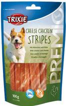 TRIXIE PREMIO Cheese Chicken Stripes, 100g, mit Huhn + Käse (100g / 2,29€)