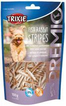 TRIXIE PREMIO Fish Rabbit Stripes, 100g  (100g / 2,29€)