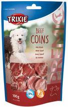 TRIXIE PREMIO Beef Coins, 100g, mit Rind (100g / 2,49€)