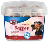TRIXIE Soft Snack BAFFOS, speziell für kleine Hunde und Welpen, mit Rind und Pansen (100g ab 1,32€)