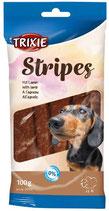 TRIXIE Stripes mit Lamm, 10 Stck / 100 g (100g / 0,99€)