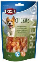 TRIXIE PREMIO Chickies, 100g, Snackknochen ummantelt mit Hühnerbrust (100g / 2,29€)