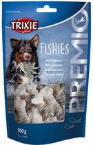 TRIXIE PREMIO Fishies, 100g, Snackknochen ummantelt mit Weißfisch (100g / 2,29€)
