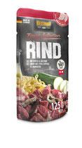 Belcando Rind mit Spätzle & Zucchini 125g (100 g ab 0,90€)