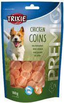 TRIXIE PREMIO Chicken Coins, 100g, mit Hühnerbrust (100g / 1,99€)