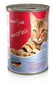 BEWI CAT Meatinis LACHS (100 g ab 0,26 €)