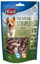 TRIXIE PREMIO Fish Chicken Stripes, mit Huhn und Seelachs - verschiedene Größen (100g ab 1,80€)