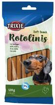 TRIXIE Soft Snack Rotolinis GEFLÜGEL, 12 Stck / 120 g (100g / 0,83€)