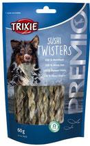 TRIXIE PREMIO Sushi Twisters, 60g, reich an Proteinen (100g / 2,98€)
