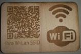 W-LAN Zugangsplakette