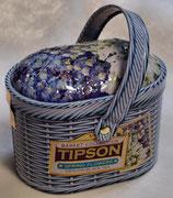 Basket Spring Flowers TIPSON