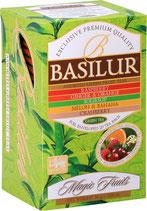 Assorted Magic Fruits Green Tea BASILUR