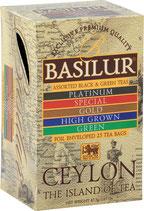 Assorted Ceylon Island 25-er BASILUR