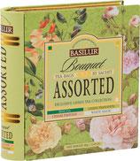 Book Assorted Green Tea Bouquet BASILUR