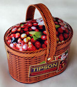 Basket Cranberries & Lingonberries TIPSON