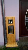 Türschild , Schild für Hausnummer