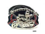 Fahrradreifen-Gürtel mit Buckle (Rebel Rider From Hell).