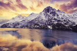 Leinwand - Norwegen im Abendrot