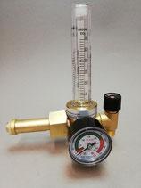 Messer Flaschendruckminderer Ar/CO2, 200 bar, 0-30 l mit Flowmeter