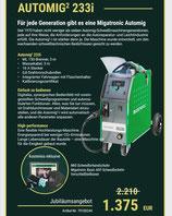 Migatronic Automig² 233i MIG/MAG Schweißgerät Schutzgas Inverter Sonderangebot