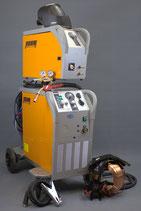 REHM SYNERGIC.PRO² 350-4 MIG MAG mit Zubehör Sets und Gasflasche