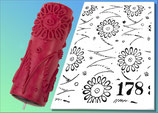 Strukturwalze Muster 178
