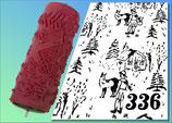 Strukturwalze Muster 336