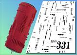 Strukturwalze Muster 331