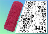 Strukturwalze Muster 343