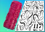 Strukturwalze Muster 117