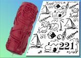 Strukturwalze Muster 221