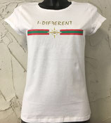 T-SHIRT PENNELLATE BIANCA