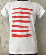 T-SHIRT RIGHE ROSSE