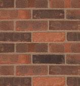 Ashington Red Multi - Standard Brick Slips